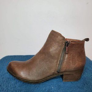 Lucky Brand Booties Size 6